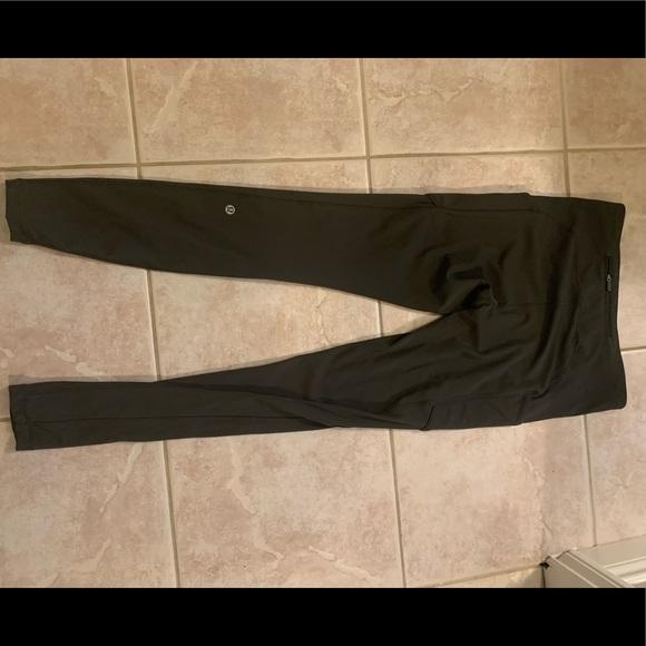 Lululemon dark green leggings